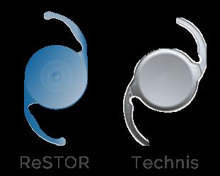 ReSTOR and Technis Multifocal Lenses